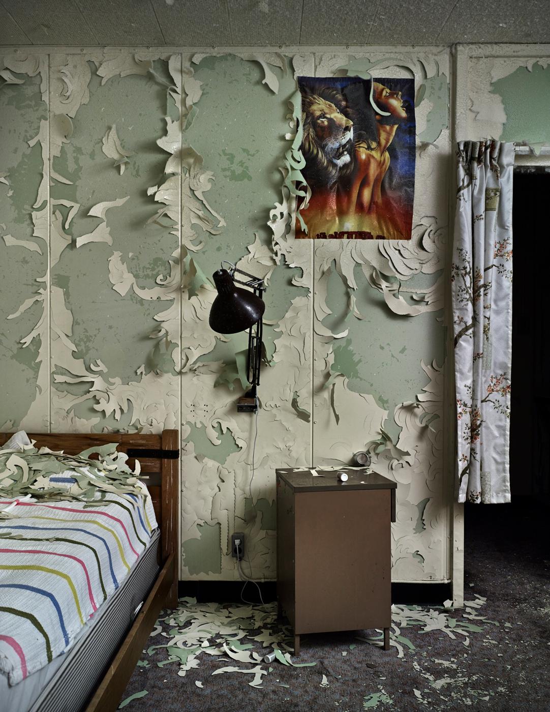 DYE3 Interior #4 Bedroom, 119cm x 92cm, Digital Pigment Print, Edition of 7, 2013